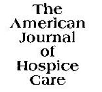 THE AMERICAN JOURNAL OF HOSPICE CARE