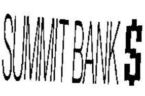 SUMMIT BANK $