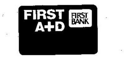 FIRST A+D FIRST BANK