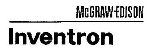 MCGRAW EDISON INVENTRON