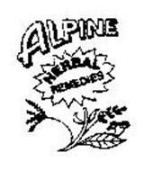 ALPINE HERBAL REMEDIES
