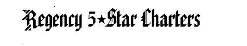 REGENCY 5 STAR CHARTERS