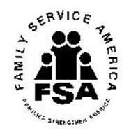 FAMILY SERVICE AMERICA FAMILIES STRENGTHEN AMERICA FSA