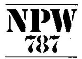 NPW 787