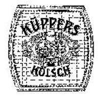 KUPPERS KOLSCH BEER BREWED AND BOTTLED IN KOLN RHEIN GERMANY