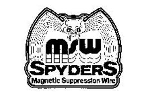 MSW SPYDERS MAGNETIC SUPPRESSION WIRE