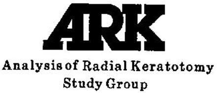 ARK ANALYSIS OF RADIAL KERATOTOMY STUDY GROUP