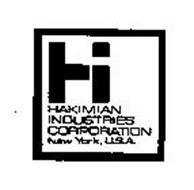 HI HAKIMIAN INDUSTRIES CORPORATION NEW YORK, USA