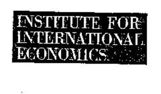 INSTITUTE FOR INTERNATIONAL ECONOMICS