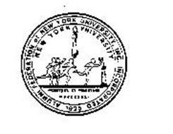 NEW YORK UNIVERSITY ALUMNI FEDERATION OF NEW YORK UNIVERSITY, INC. INCORPORATED 1925 PERSTARE ET PRAESTARE MDCCCXXXI