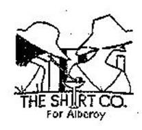 THE SHIRT CO. FOR ALBEROY