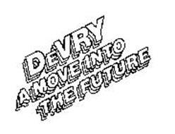 DEVRY A MOVE INTO THE FUTURE