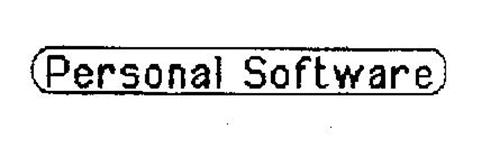 PERSONAL SOFTWARE