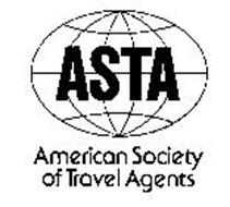 ASTA AMERICAN SOCIETY OF TRAVEL AGENTS