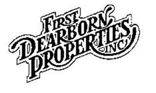 FIRST DEARBORN PROPERTIES INC.