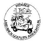 MEMBER LBGA LAID BACK GOLFER'S ASSOCIATION