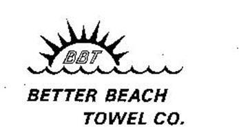 BBT BETTER BEACH TOWEL CO.