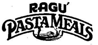 RAGU' PASTA MEALS