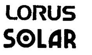 LORUS SOLAR