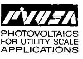 PVUSA PHOTOVOLTAICS FOR UTILITY SCALE APPLICATIONS
