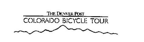 THE DENVER POST COLORADO BICYCLE TOUR