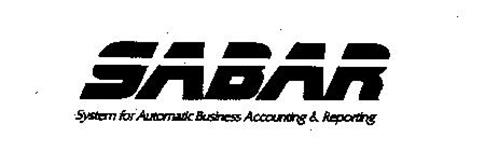 SABAR SYSTEM FOR AUTOMATIC BUSINESS ACCOUNTING & REPORTING