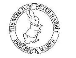 THE WORLD OF PETER RABBIT FREDERICK WARNE
