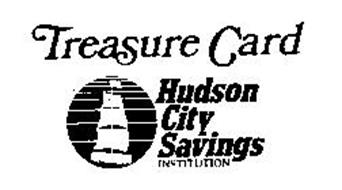 TREASURE CARD HUDSON CITY SAVINGS INSTITUTION