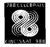 88 CELEBRATE CINCINNATI 1788 1988