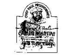 CHEF PAUL PRUDHOMME'S ORIGINAL K-PAUL'S CAJUN MARTINI