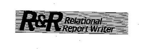 R&R RELATIONAL REPORT WRITER