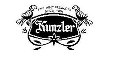 FINE MEAT PRODUCTS SINCE 1901 KUNZLER