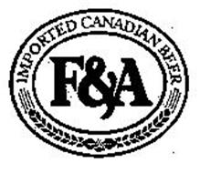 F&A IMPORTED CANADIAN BEER