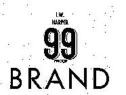 I.W. HARPER 99 PROOF BRAND