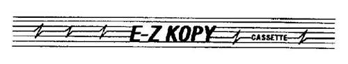 E-Z KOPY CASSETTE