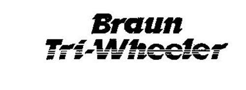 BRAUN TRI-WHEELER
