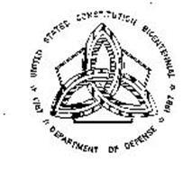 1787-1791 UNITED STATES CONSTITUTION BICENTENNIAL 1987-1991 DEPARTMENT OF DEFENSE