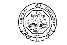 LIBERTY UNIVERSITY KNOWLEDGE AFLAME FOUNDED 1971