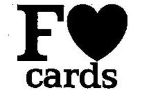 F CARDS LOVE