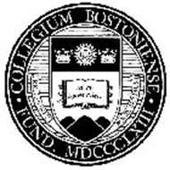 COLLEGIUM BOSTONIENSE FUND. MDCCCLXIII RELIGIONI ET BONIS ARTIBUS