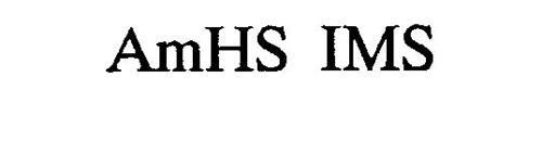 AMHS IMS