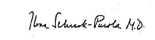 ILONA SCHRECK-PUROLA M.D.