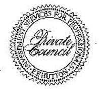 PRIVATE COUNCIL E.F. HUTTON INVESTMENT SERVICES FOR PROFESSIONALS