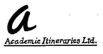 A ACADEMIC ITINERARIES LTD.