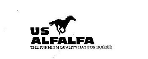 US ALFALFA THE PREMIUM QUALITY HAY FOR HORSES
