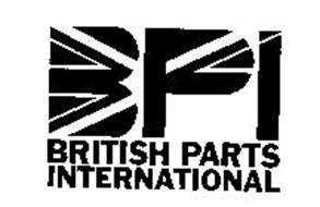 BPI BRITISH PARTS INTERNATIONAL