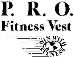 P.R.O. FITNESS VEST WIN WITH FITNESS