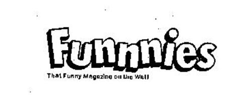 FUNNNIES THAT FUNNY MAGAZINE ON THE WALL