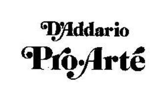 D'ADDARIO PRO-ARTE