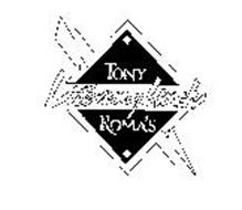 TONY ROMA'S LITE-NING LUNCH